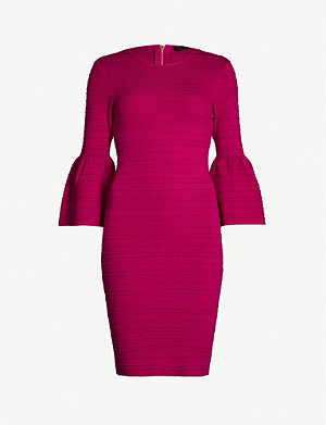 TED BAKER Yansiaa knitted bodycon dress