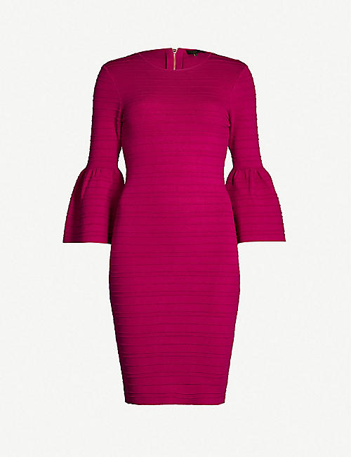 5a9faa01ce2c86 TED BAKER Yansiaa knitted bodycon dress