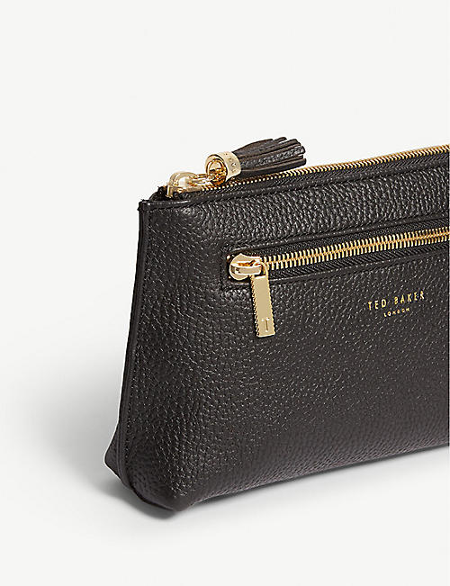 TED BAKER Lorenzi leather washbag