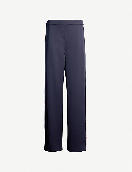 ea6ac3fd4 TED BAKER Wahnona wide high-rise crepe trousers
