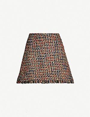 cc294d99da TED BAKER - Scalloped woven mini skirt | Selfridges.com