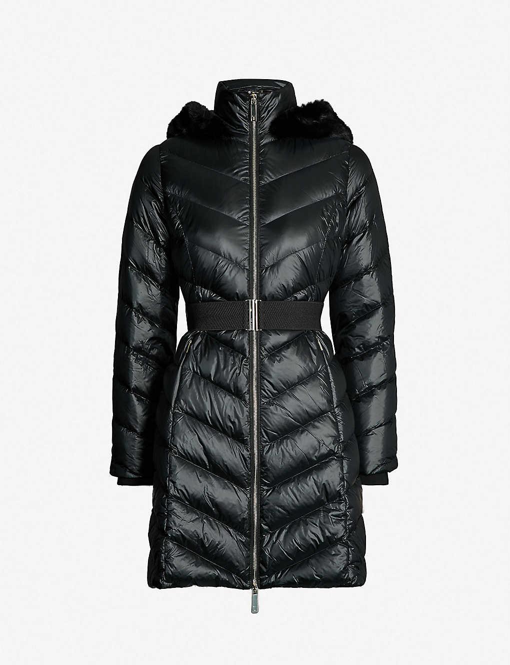 962ce68b7cc5 TED BAKER - Millsa shell-down coat | Selfridges.com
