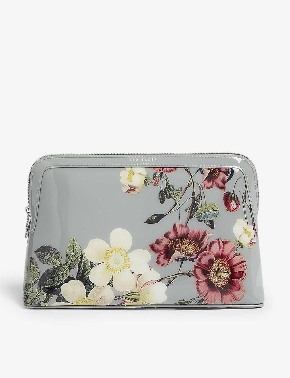 28063dcaa779 TED BAKER - Jodelle floral PVC wash bag | Selfridges.com