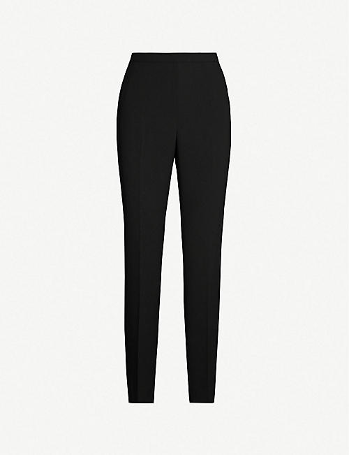 1e8937eb3 TED BAKER Anitat tailored cropped cotton-twill trousers