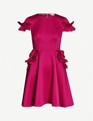 TED BAKER Luuciee jersey skater dress