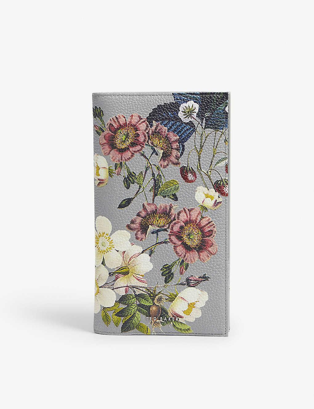 a847ba119bcc TED BAKER - Vivvi floral leather travel wallet