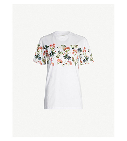03f1fc020 TED BAKER Rogan Oracle-printed cotton-jersey T-shirt (White