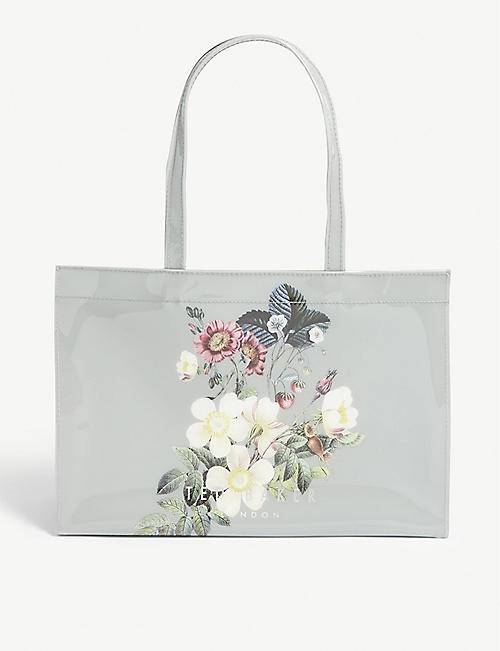 2d7882224cefd8 TED BAKER Vazcon floral PVC tote
