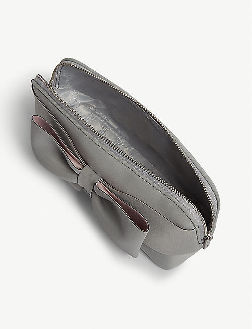 TED BAKER Magalie neoprene make-up bag
