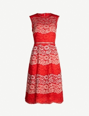 TED BAKER Inarra sleeveless lace dress