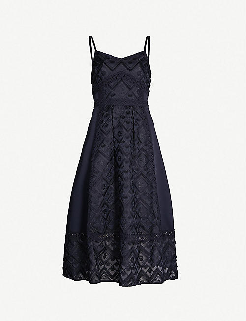 42baefc80 TED BAKER Leeeo lace midi dress