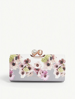 TED BAKER Adelphe leather matinee purse