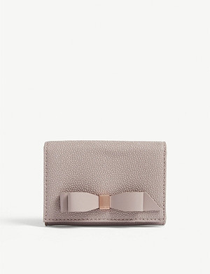 TED BAKER Leonyy leather mini purse