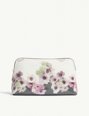 TED BAKER Amela Neopolitan print make-up bag