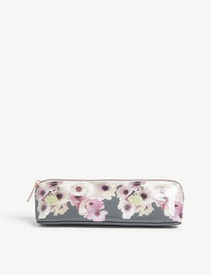 TED BAKER Neopolitan pencil case 5.5cm x 20cm