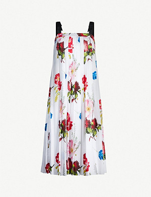TED BAKER Melbii floral-print woven dress