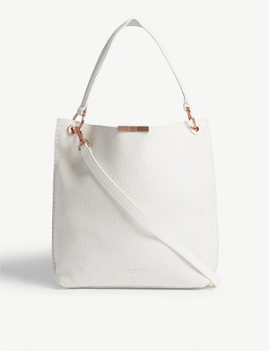 TED BAKER Candiee small grained leather hobo bag