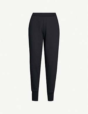 TED BAKER Radonna high-rise stretch-cotton jogging bottoms