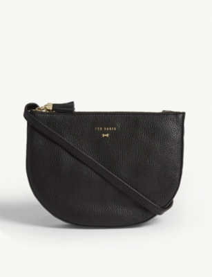 TED BAKER Suzzane grained leather cross-body bag