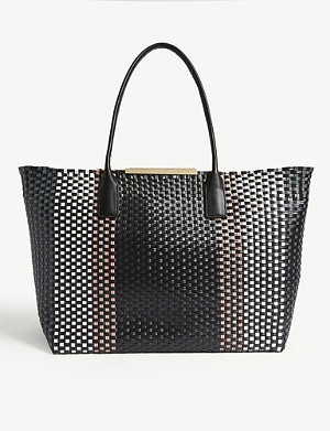 TED BAKER Maxinee woven tote