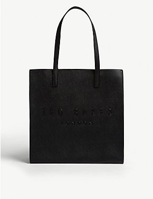 TED BAKER: Icon leather tote bag
