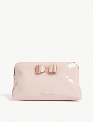 TED BAKER Cahira bow detail wash bag