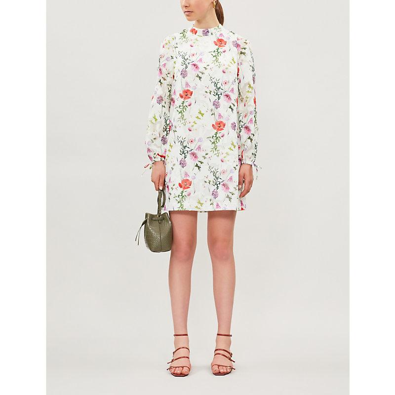 Ted Baker Dresses FLORAL-PRINT CREPE DRESS
