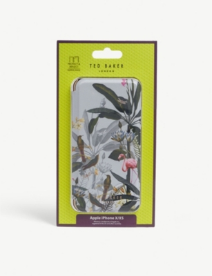TED BAKER Pistachio iPhone X/XS protect and reflect phone case