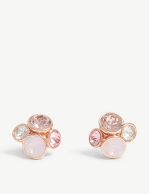TED BAKER Lynda jewel cluster earrings
