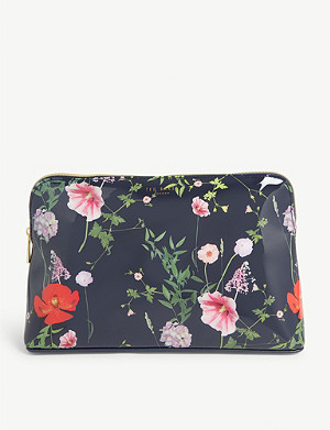 TED BAKER Agenina Hedgerow print washbag
