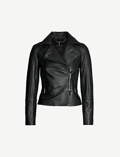 Biker Jackets Jackets Coats Jackets Clothing Womens