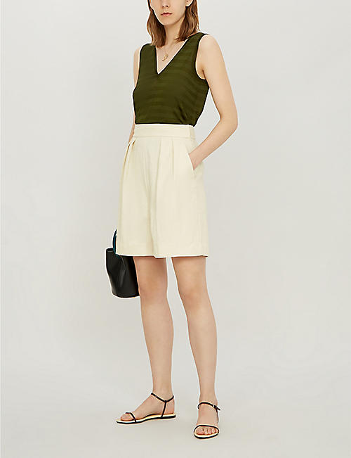 TED BAKER LEYSINI knitted sleeveless tank top