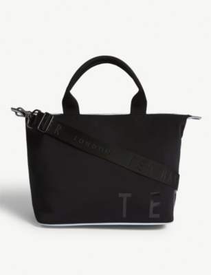 TED BAKER Neoprene small tote