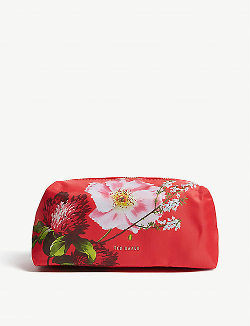 TED BAKER Frede Berry Sundae print make-up bag