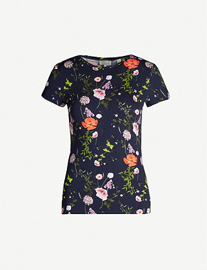 TED BAKER Jinene cotton-jersey T-shirt