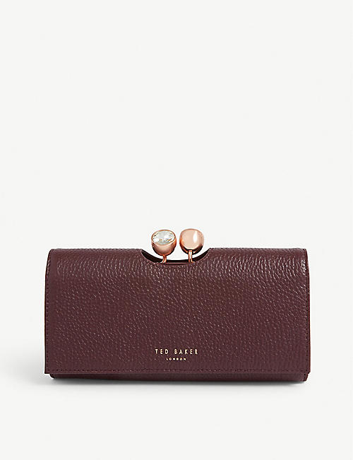 TED BAKER Solange leather matinee purse