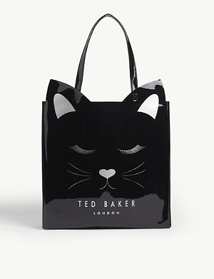 TED BAKER Large Cat Icon bag