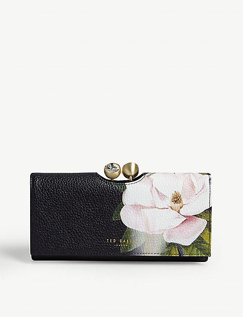 TED BAKER Opal leather purse
