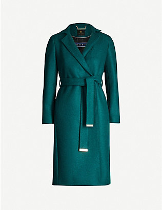 TED BAKER: Chelsyy wool coat
