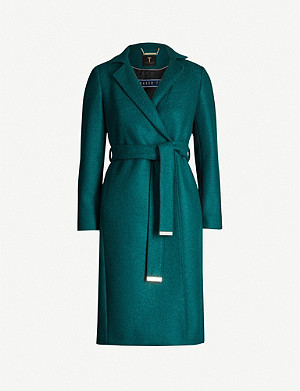 TED BAKER Chelsyy wool coat
