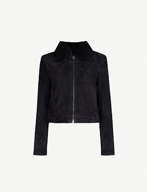 TED BAKER Tazanna suede jacket