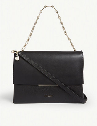 TED BAKER: Diaana leather shoulder bag