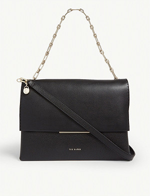 TED BAKER Diaana leather shoulder bag