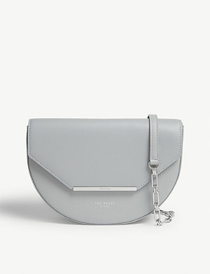 TED BAKER Felicaa moon leather cross-body bag