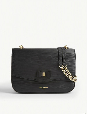 TED BAKER Danieel leather shoulder bag