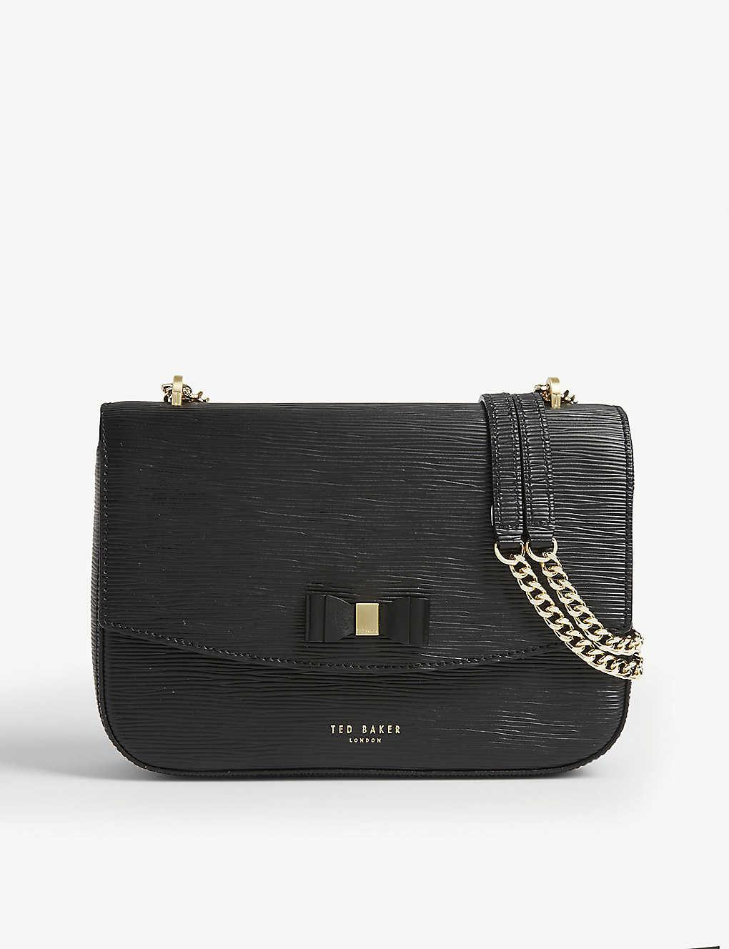 TED BAKER: Danieel leather shoulder bag