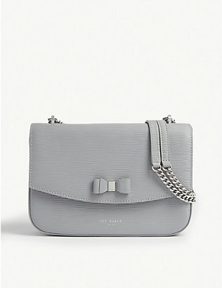 TED BAKER: Danieel leather shoulder bag