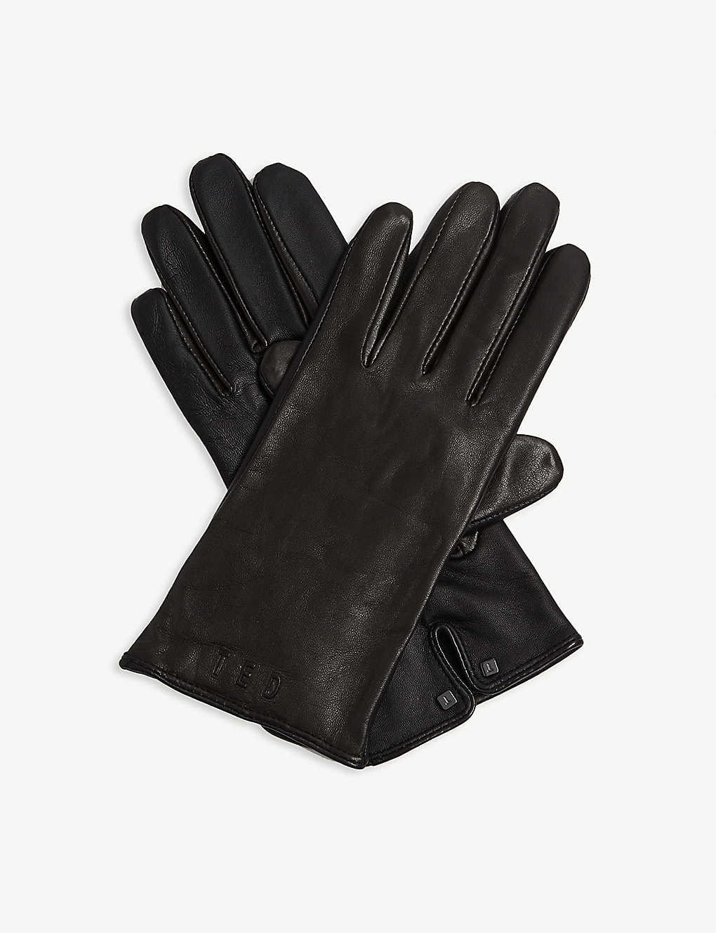TED BAKER: Baaylee leather gloves