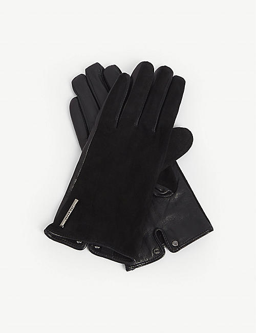 TED BAKER Sofie suede gloves