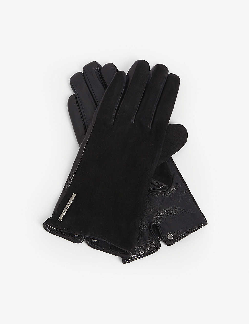 TED BAKER: Sofie suede gloves